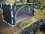 8000 RF-Shielded Tapletop Tent – 24 in x 48 in x 24 in high