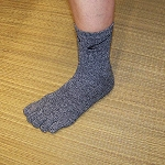 Silvertex Footcare Toe Socks (where each toe is individually covered)