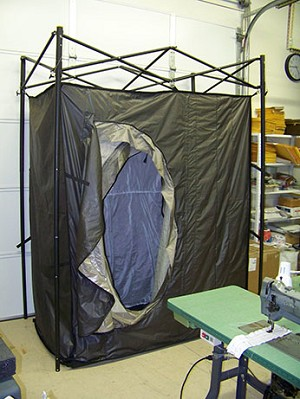 8000 RF-Shielded Tent – 7 ft x 10 ft x 7 ft high