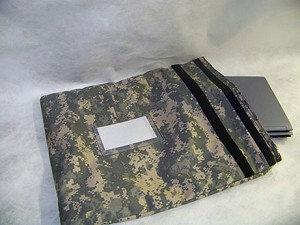 Large Military Field Computer Evidence Bag